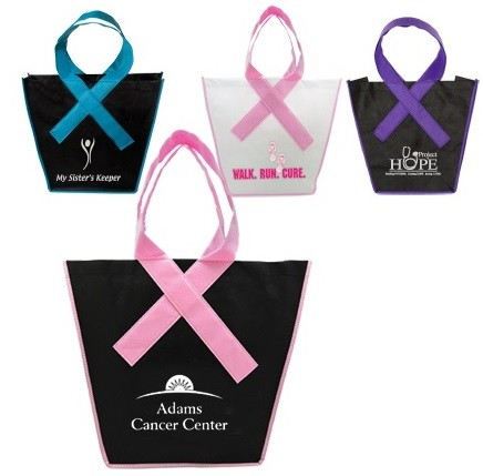 Awareness Ribbon Tote Bag - Domestic