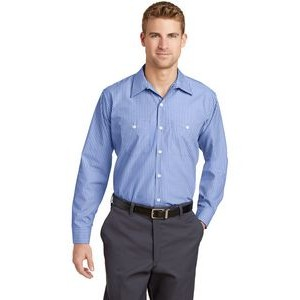 OXFORD SHIRT LT-6XLT MEN/'S CLASSIC EASY CARE TALL POCKET STAIN RESISTANT