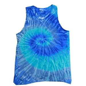 All These Flavors and You Choose Adult Pigment Dye Tank Top