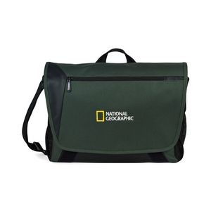Sawyer Computer Messenger Bag - Deep Forest Green