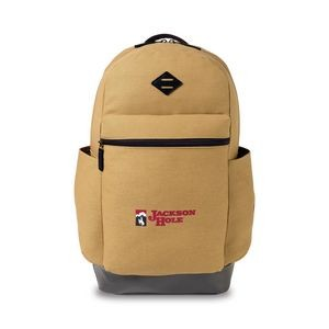 Heritage Supply Ridge Cotton Classic Computer Backpack - Dune