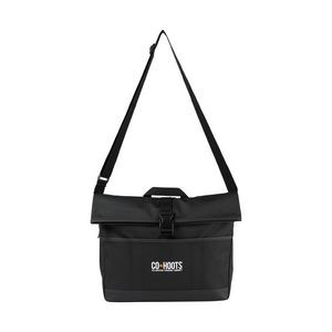 Mobile Office Computer Messenger Bag - Black