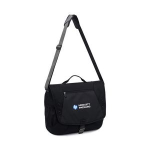 Vertex® Condor Computer Messenger Bag - Black