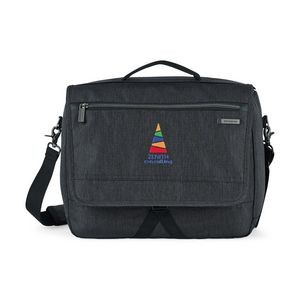 Samsonite Modern Utility Computer Messenger Bag - Charcoal Heather-Charcoal