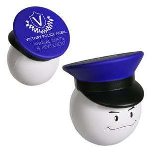Policeman Mad Cap Stress Reliever