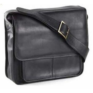Executive Leather Laptop Mail Bag