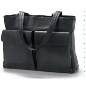 Two Pocket Business Leather Tote Bag